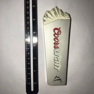 Coors Light Mountains Mini Tap Handle